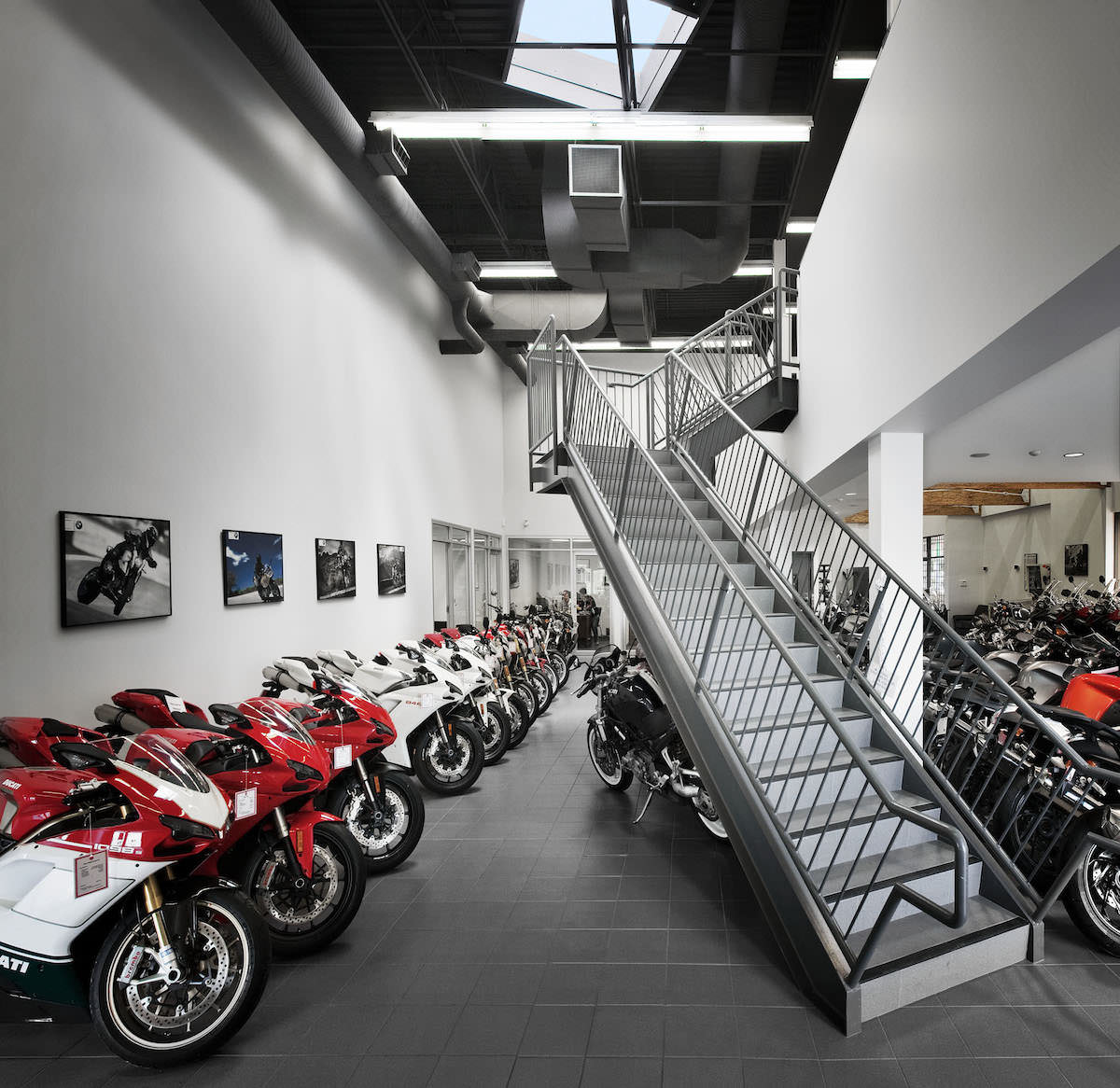 john valk bmw / ducati dealership - abbarch