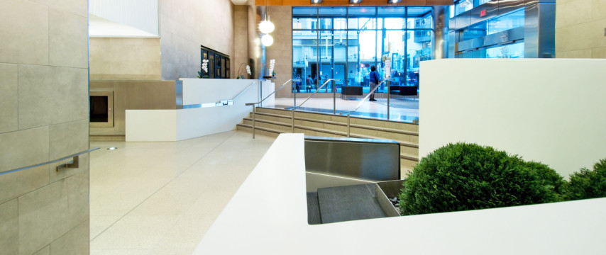 Office Tower Lobby Redevelopment – 701 W. Georgia Street