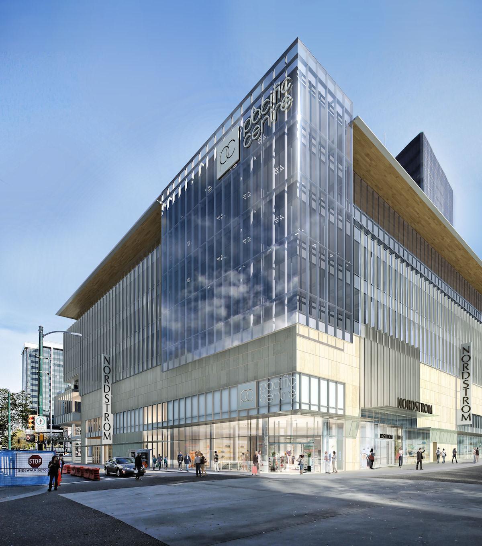 Pacific Centre Sears Building Redevelopment