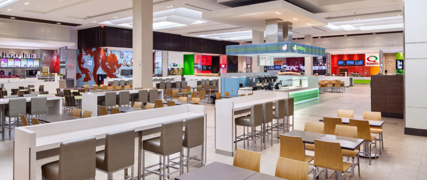 Richmond Centre Mall and Food Court Renovation