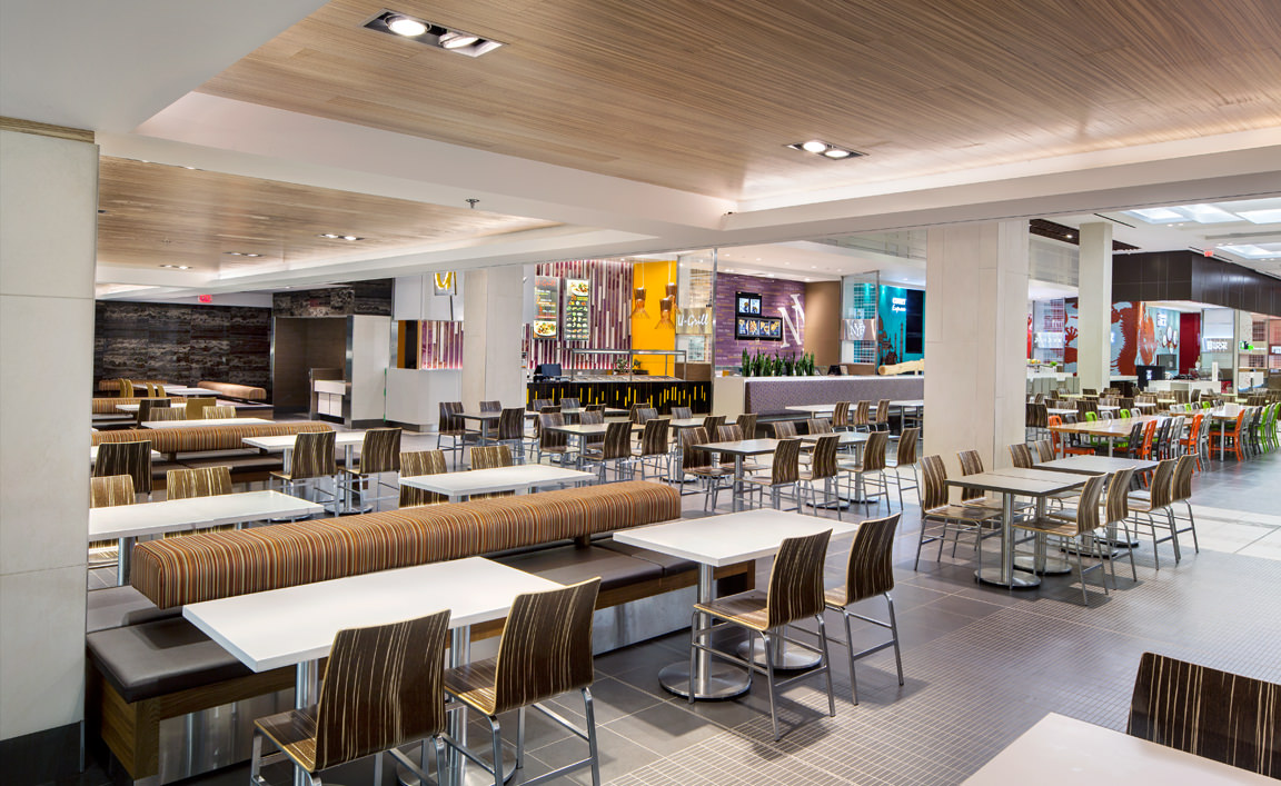 Richmond centre mall and food court renovation abbarch